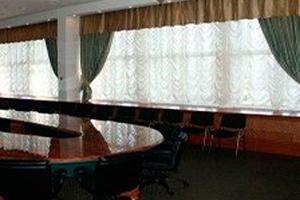 Кабинет в дизайнах штор